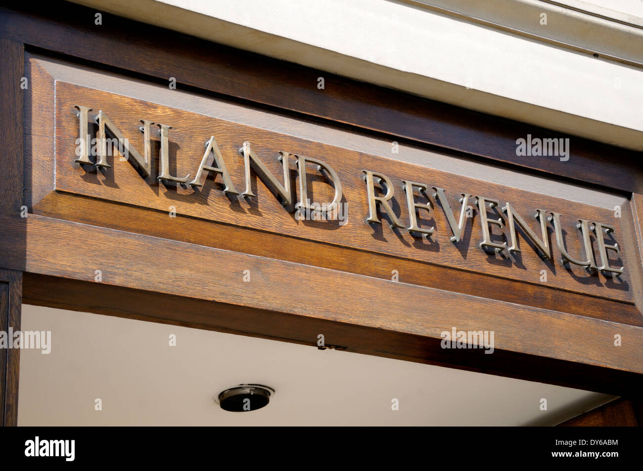 London, England, UK. Inland Revenue (tax) office in Bush House - Stock Image