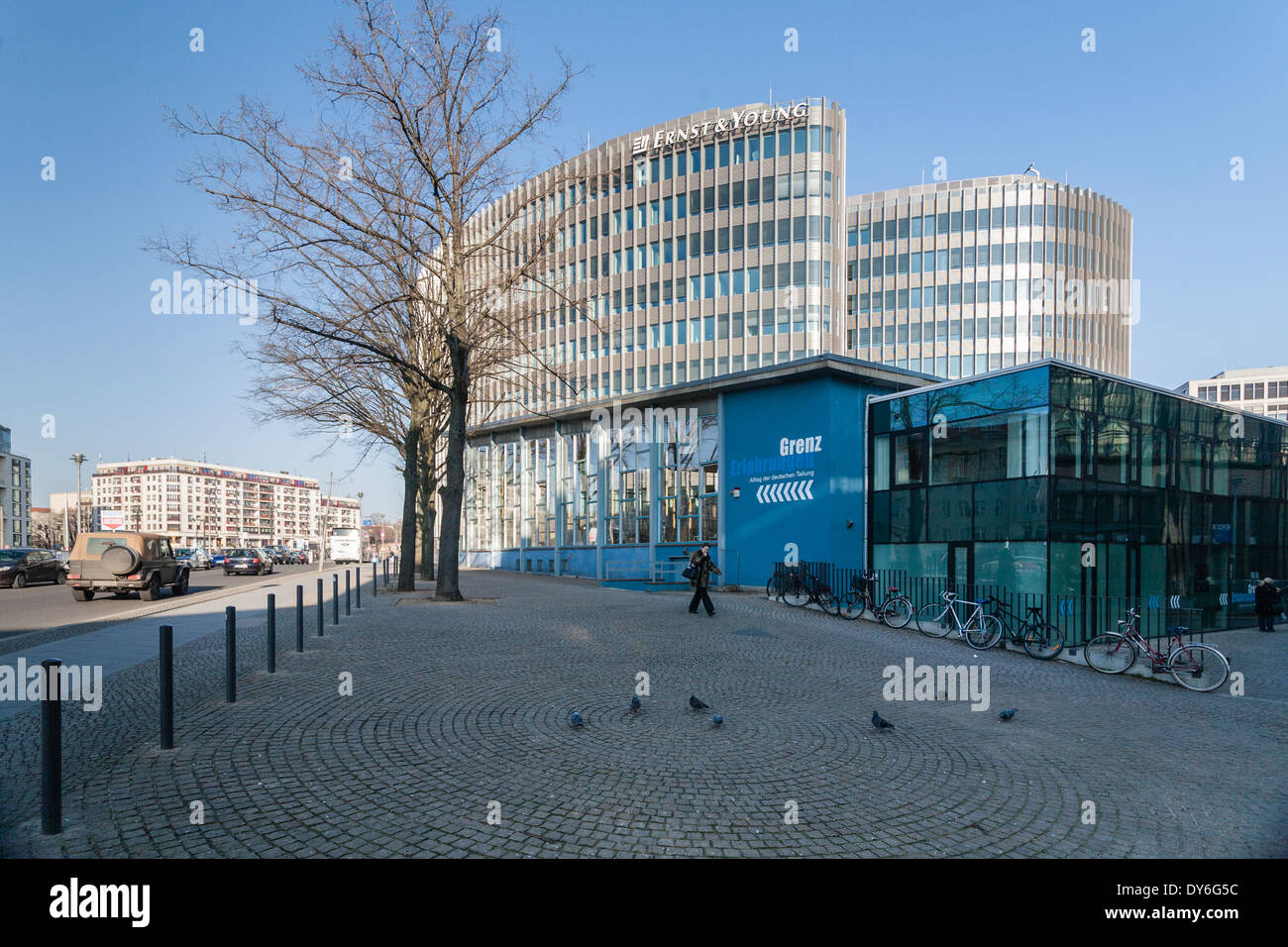 Palace of Tears, former border crossing, Berlin, Germany - Stock Image