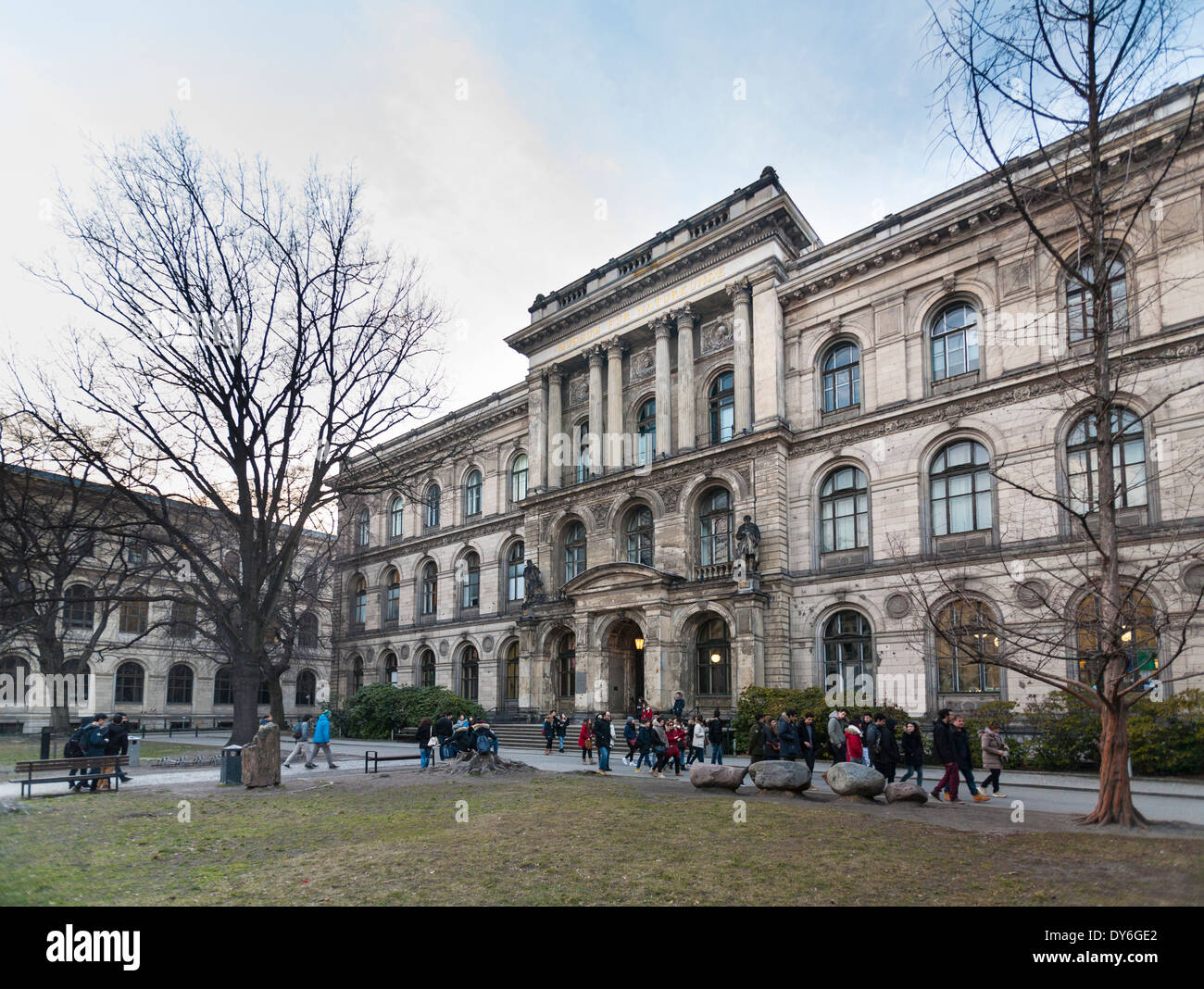 Museum of Natural History, Berlin, Germany - Stock Image