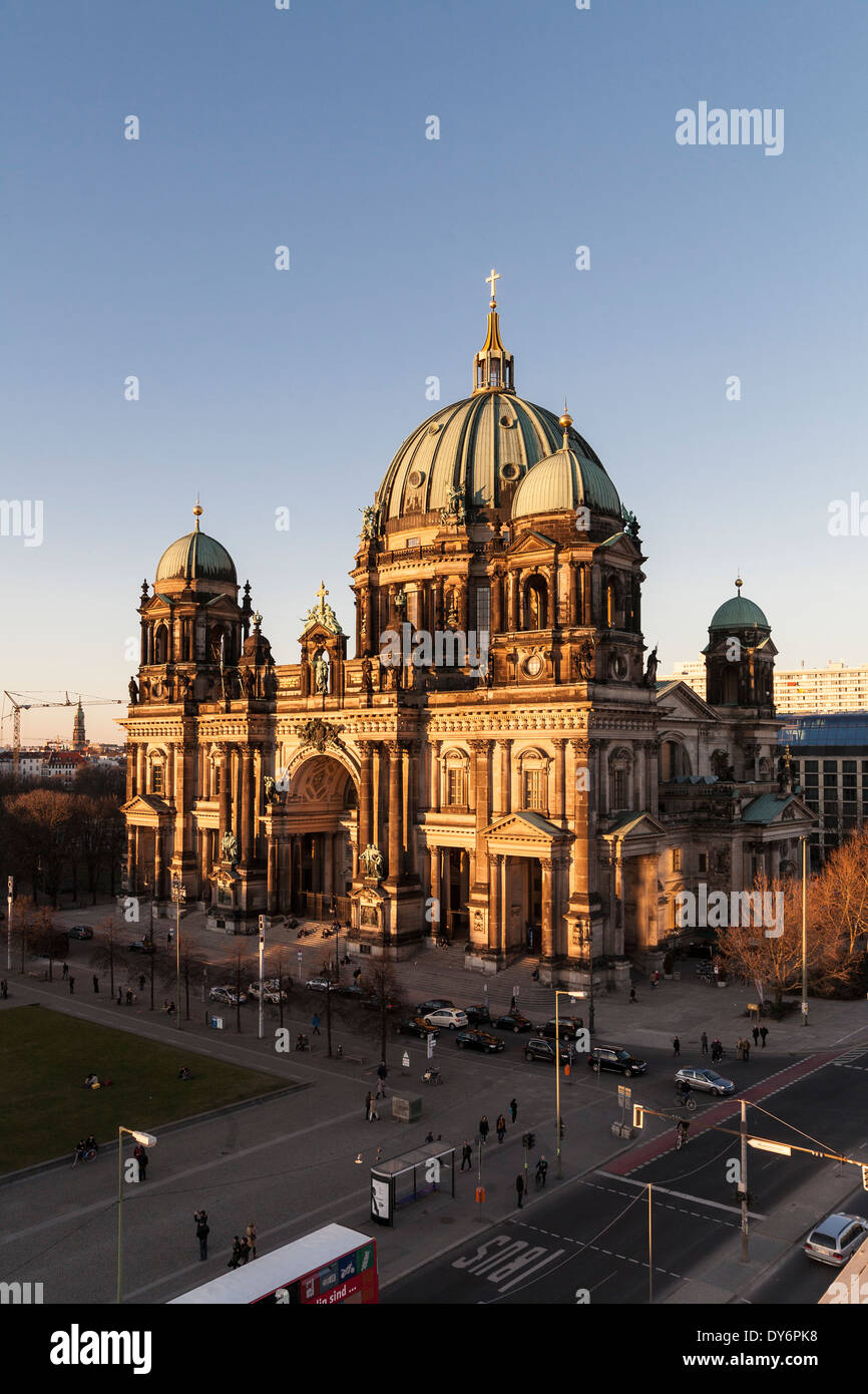 Berlin Cathedral, Germany - Stock Image