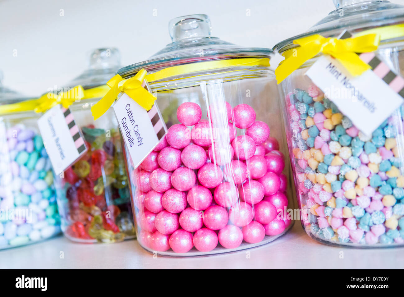 Jars Filled With Sweets Stock Photos & Jars Filled With Sweets Stock ...