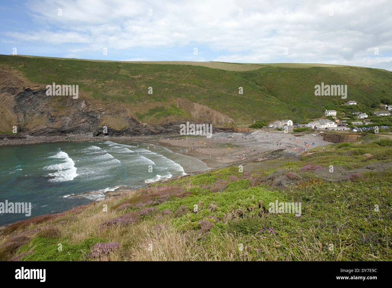 Crackington Haven - Stock Image