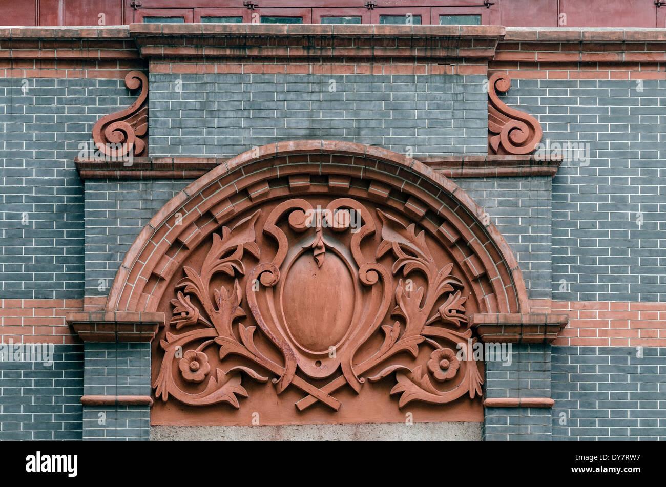 Traditional architecture, Xintiandi, Shanghai, China - Stock Image
