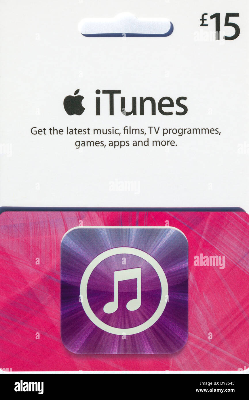 Itunes Gift Card Stock Photos Itunes Gift Card Stock Images Alamy