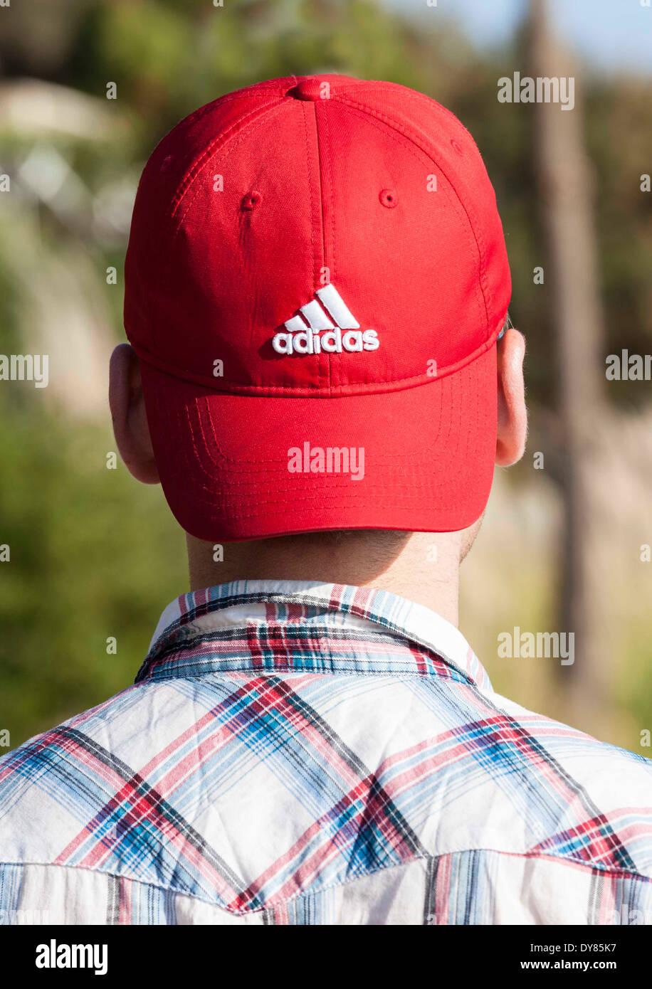 768e960645b Adidas Cap Stock Photos   Adidas Cap Stock Images - Alamy