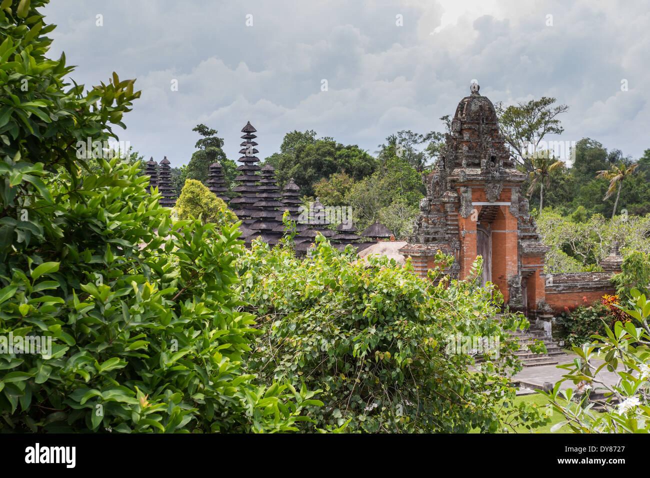 Royal Temple of Mengwi (Pura Taman Ayun) Stock Photo
