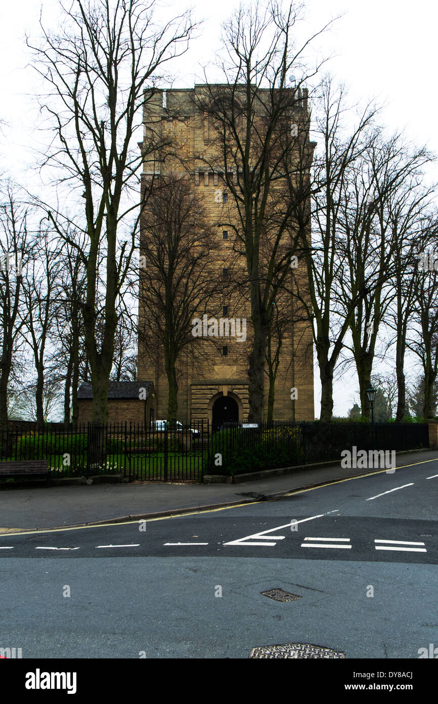 The Water Tower, Westgate, Lincoln Lincoln City Lincolnshire UK GB England - Stock Image