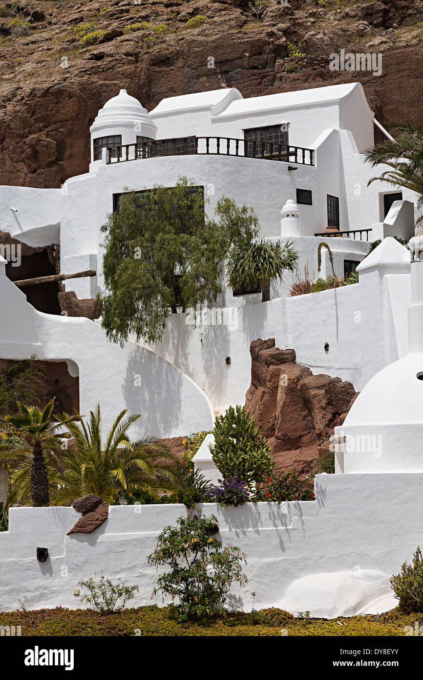 Lagomar, Omar's Sharif house, Oasis de Nazaret, Lanzarote, Canary Islands, Spain - Stock Image