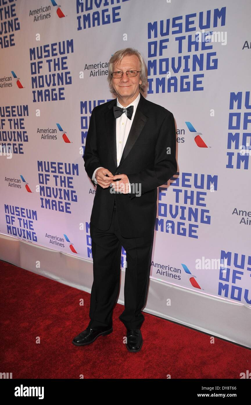 New York, NY, USA. 9th Apr, 2014. Jim Kerr at arrivals for Museum of the Moving Image 28th Annual Salute to Kevin Spacey, 583 Park Avenue, New York, NY April 9, 2014. Credit:  John Paul Melendez/Everett Collection/Alamy Live News - Stock Image