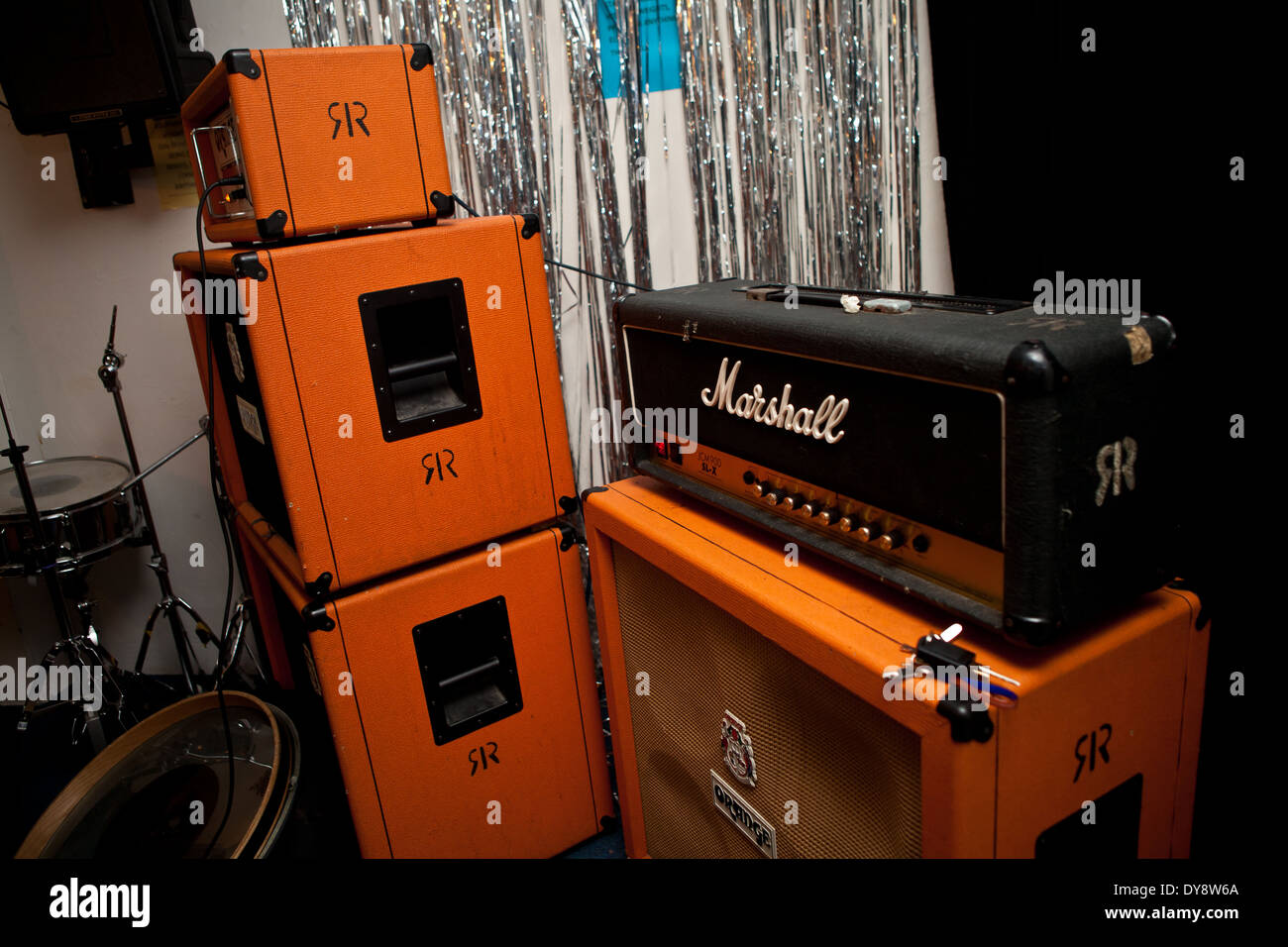 Marshall Amplifier Stock Photos & Marshall Amplifier Stock Images