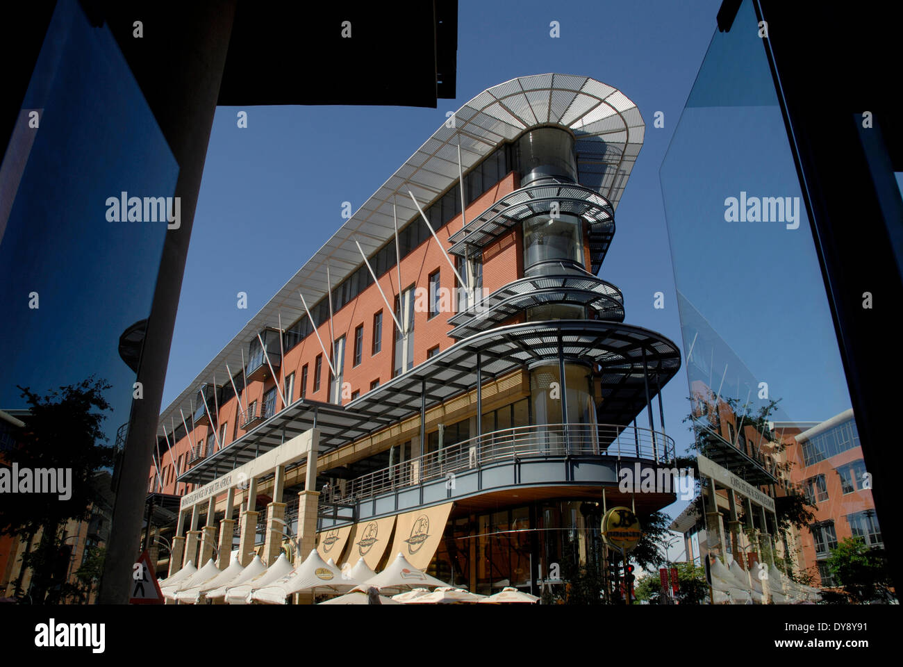 South Africa Johannesburg 2008the Trendy Melrose Arch Area With