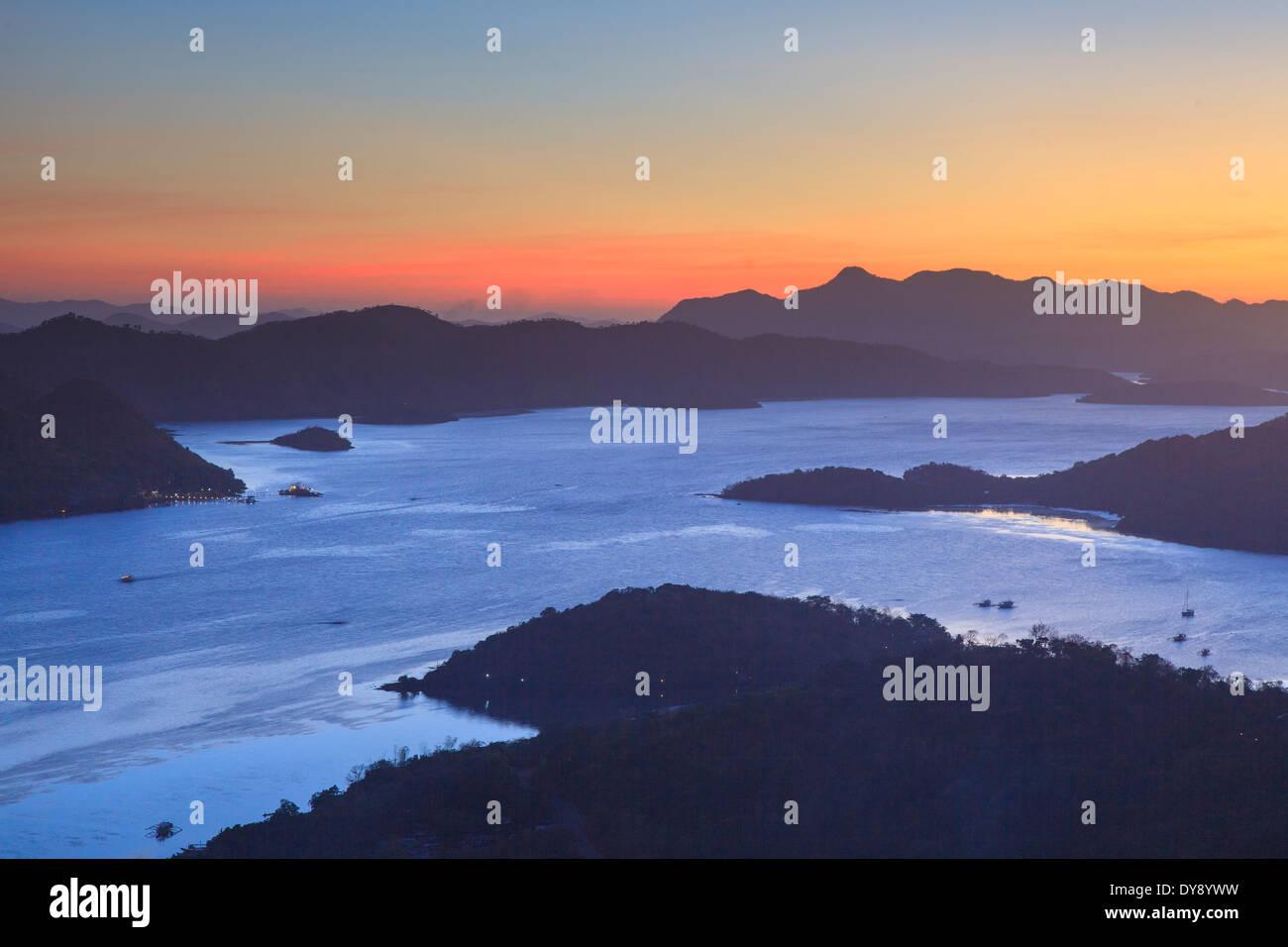 Philippines, Palawan, Coron Island, Coron Town - Stock Image