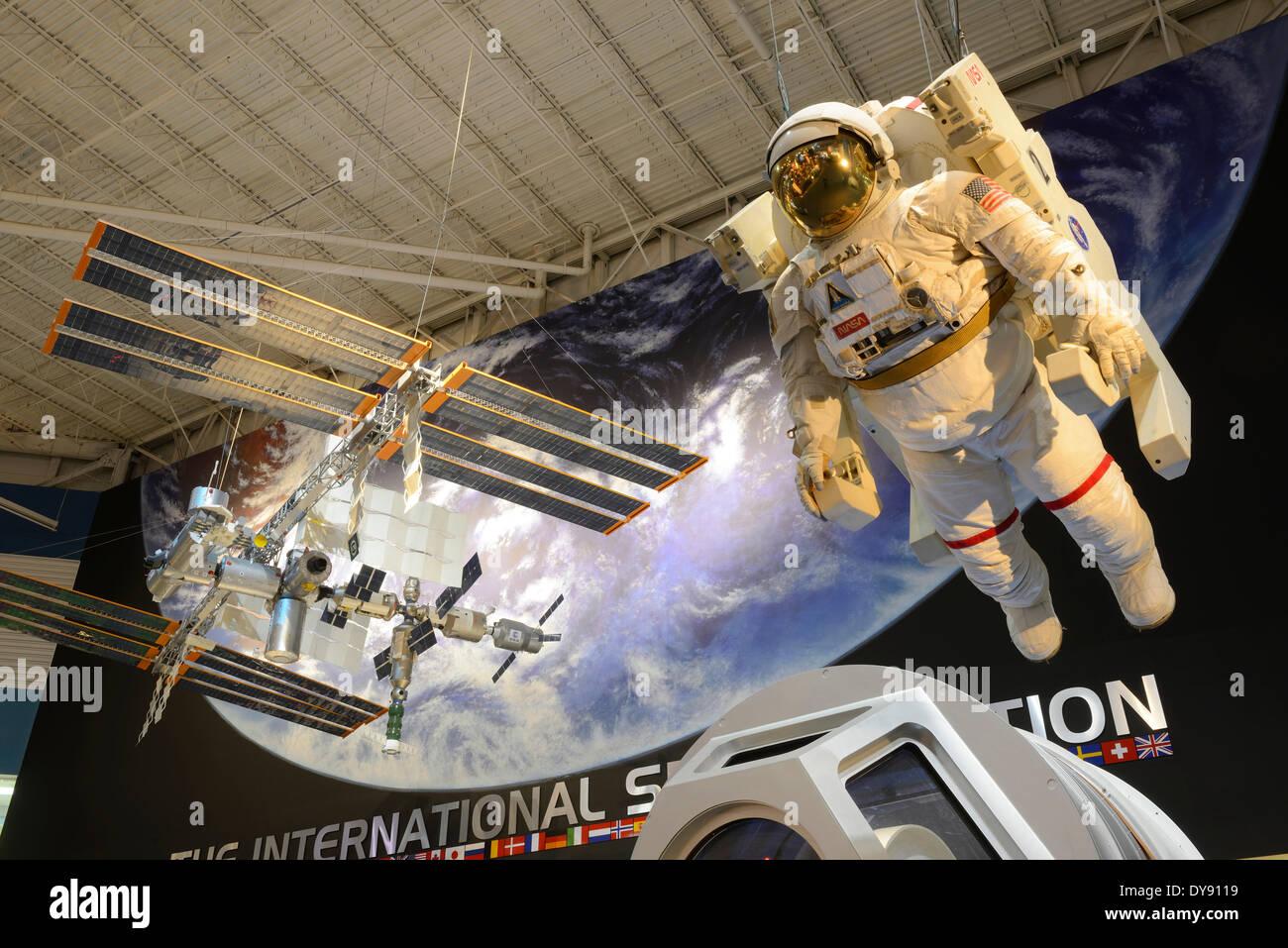 USA, United States, America, Texas, Houston, NASA, Space Center, Astronaut, ISS - Stock Image