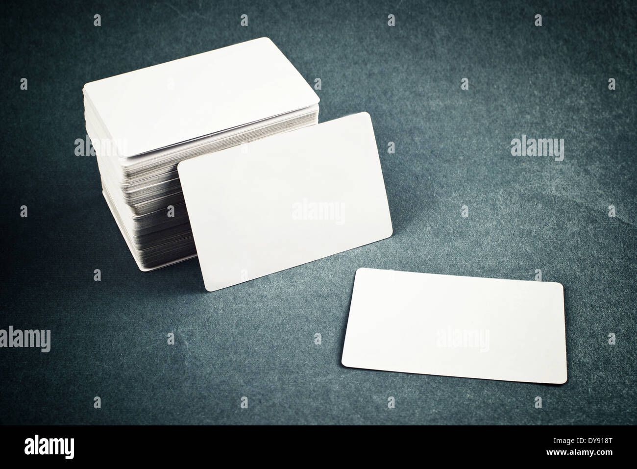 Business cards with rounded corners stack of blank horizontal stock business cards with rounded corners stack of blank horizontal business cards propped up another with copy space for your design colourmoves