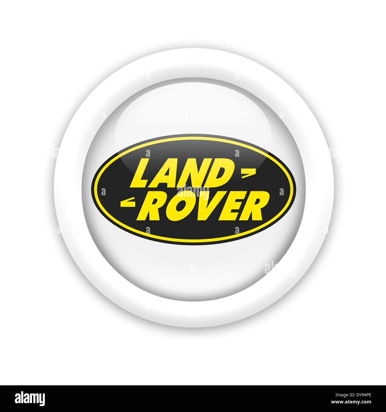 Land Rover Logo Icon Symbol Emblem Flag Stock Photo 68428150 Alamy