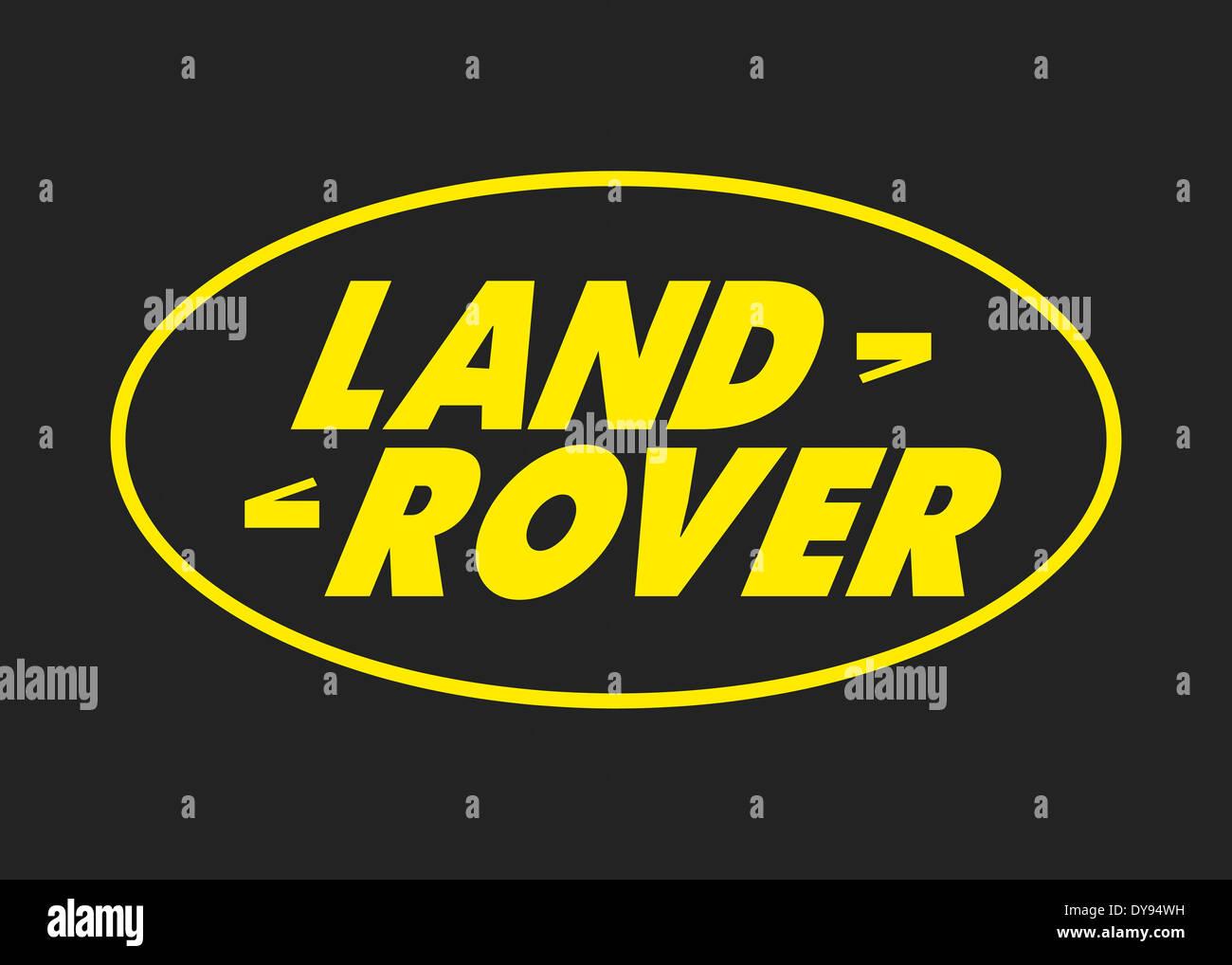 Land Rover Logo Icon Symbol Emblem Flag Stock Photo 68428237 Alamy