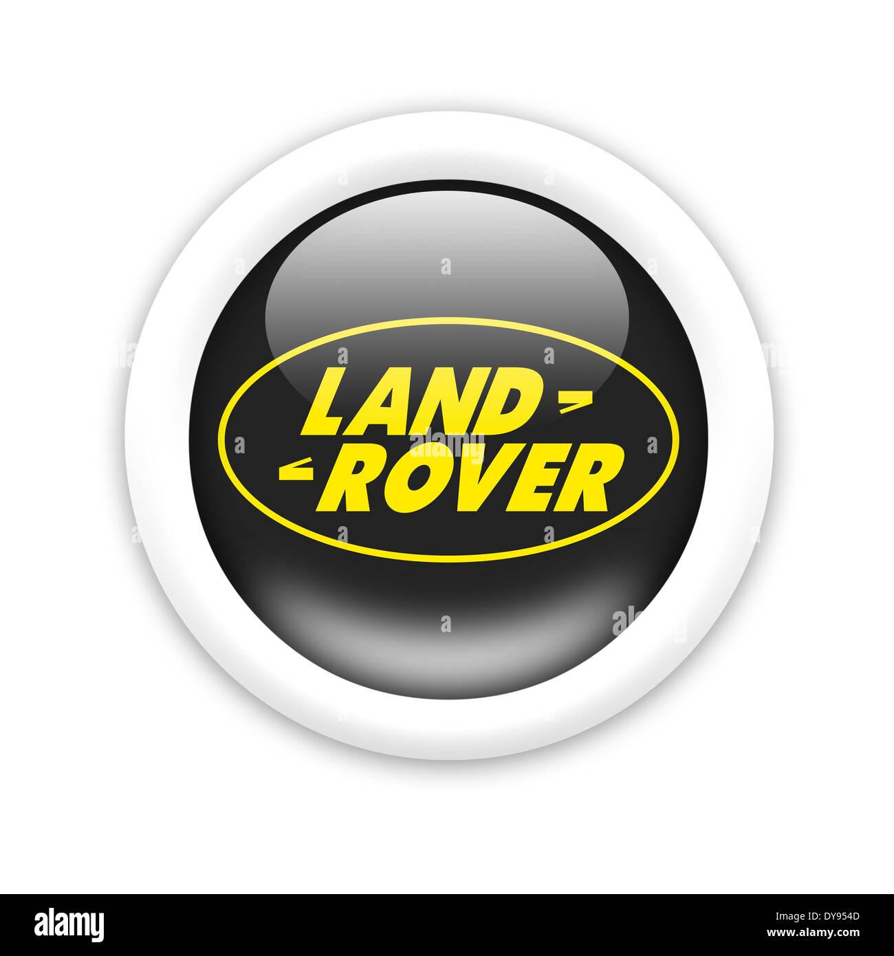 Land Rover Logo Icon Symbol Emblem Flag Stock Photo 68428429 Alamy