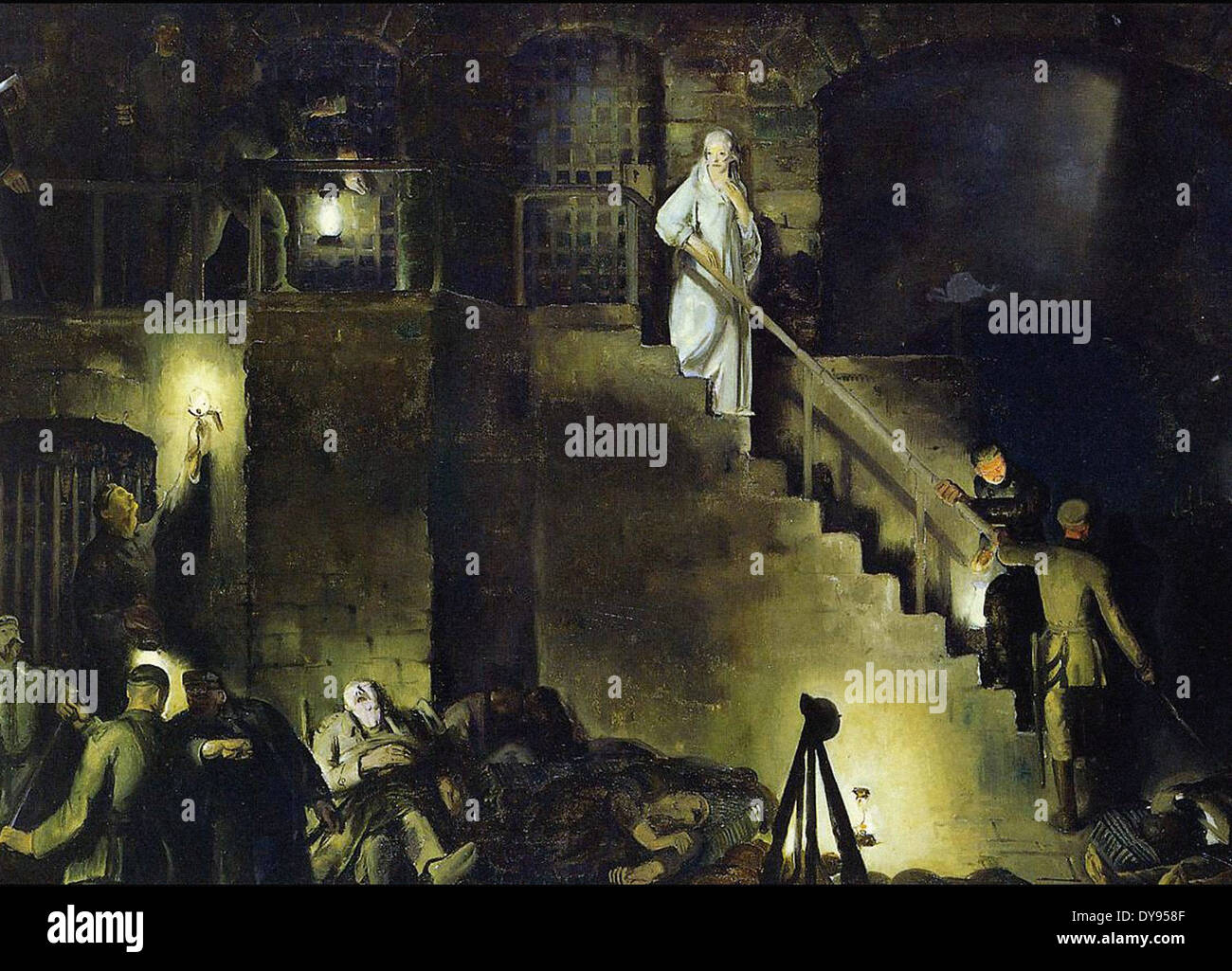 George Wesley Bellows Edith Cavell - Stock Image
