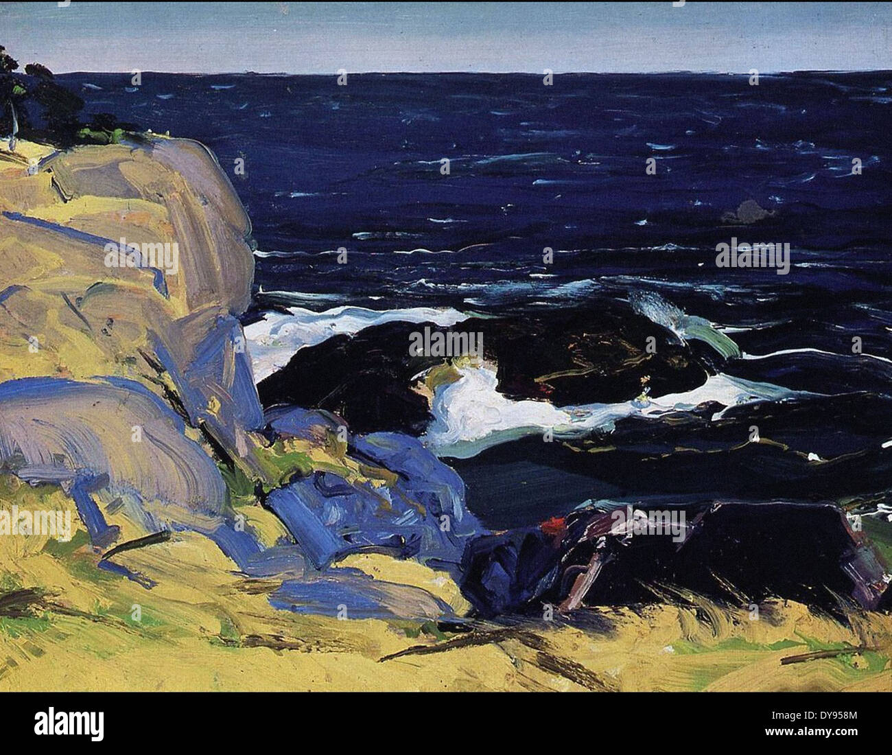 George Wesley Bellows West Wind - Stock Image