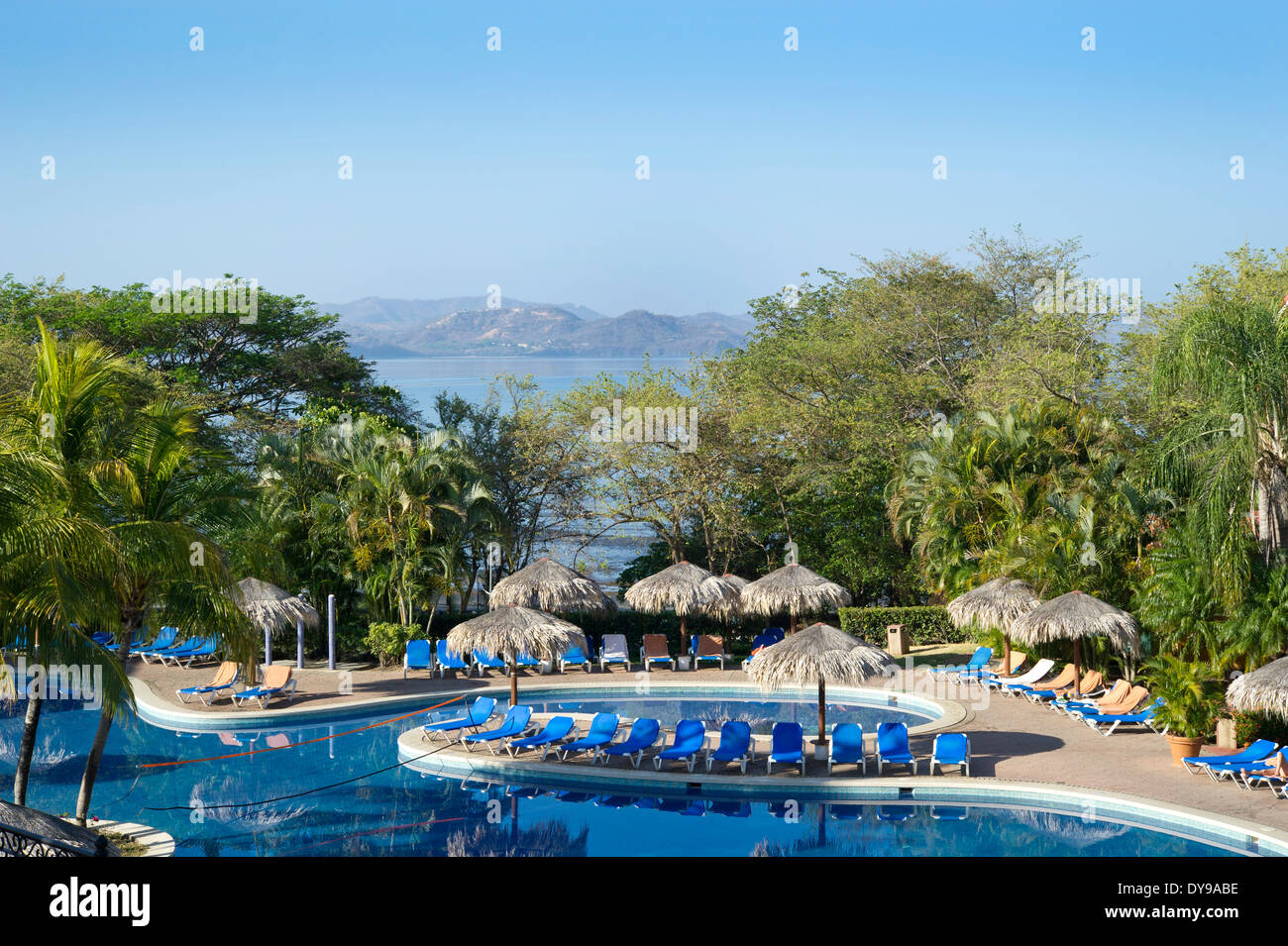 Allegro Papagayo all-inclusive resort near Liberia, Costa Rico - Stock Image
