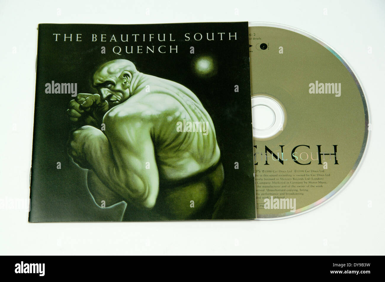 The Beautiful South 'Quench' Album - Stock Image