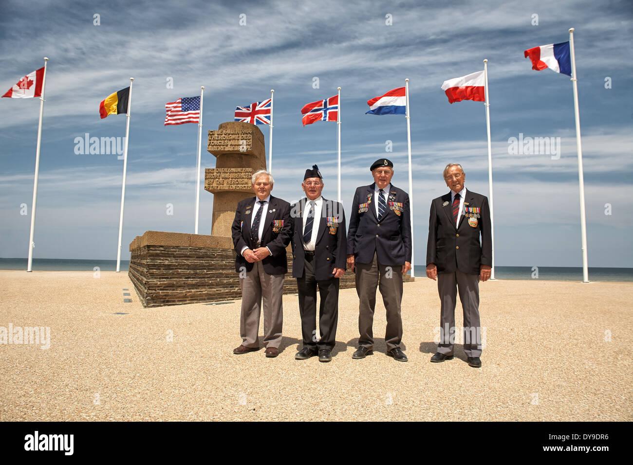 british veterans - Stock Image