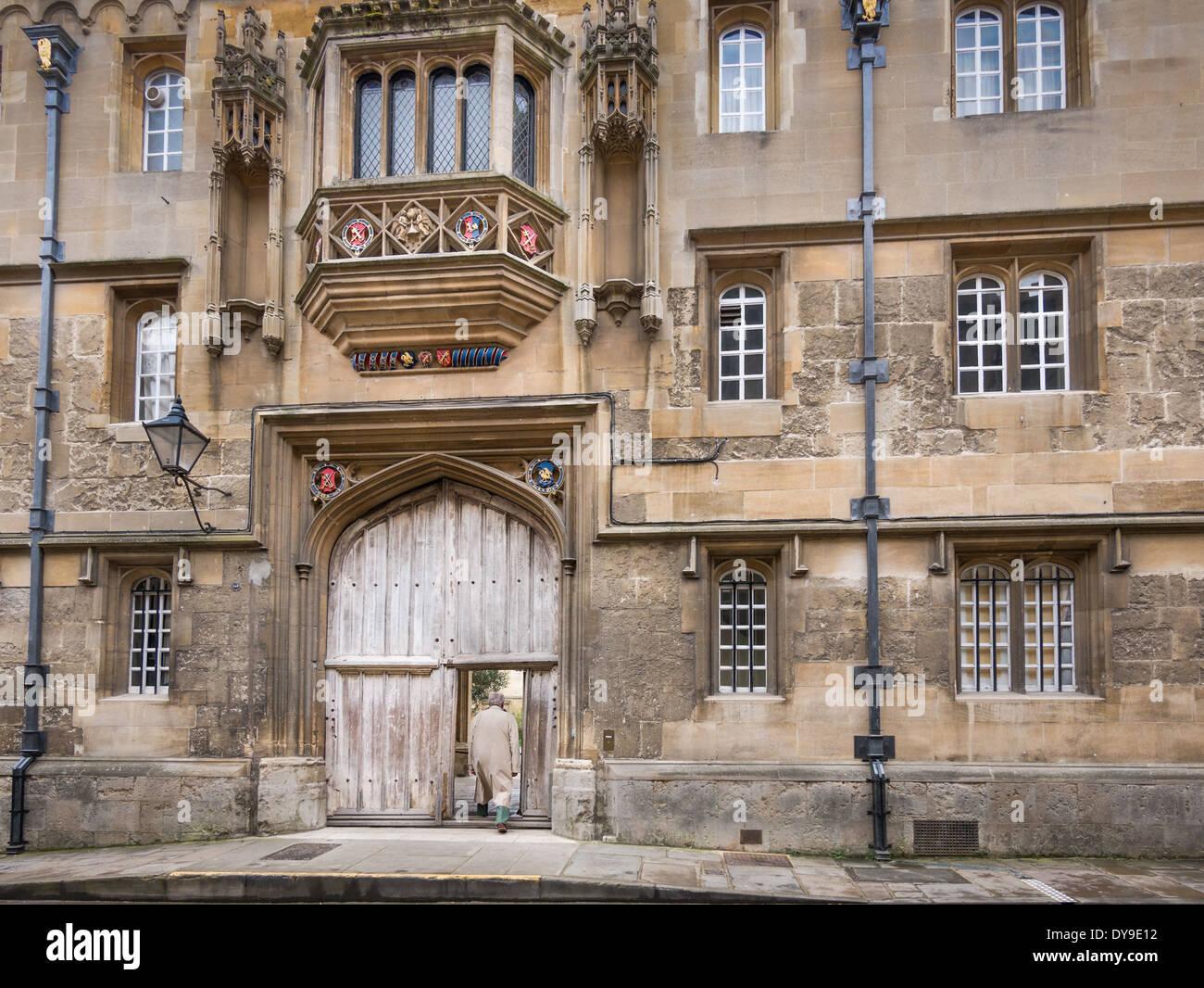 Oxford university, England - Stock Image