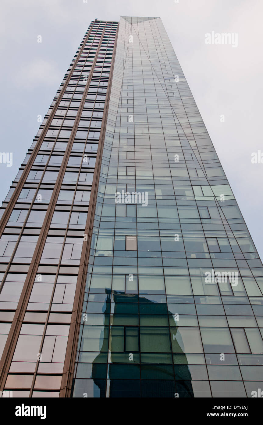 Taikang Financial Tower in Beijing Central Business District (CBD), Chaoyang District, Beijing, China - Stock Image