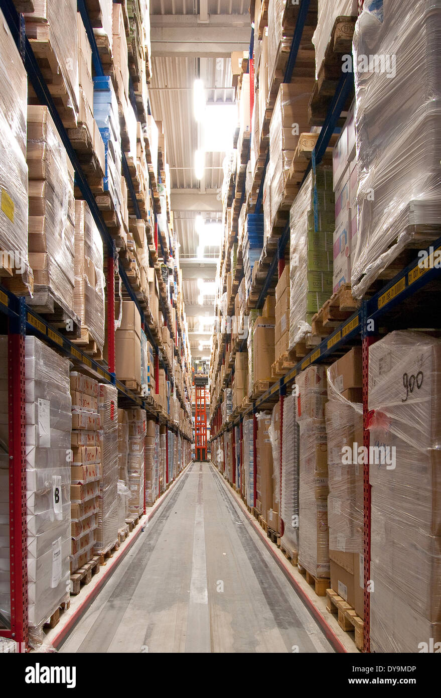 Logistics, warehouse - Stock Image