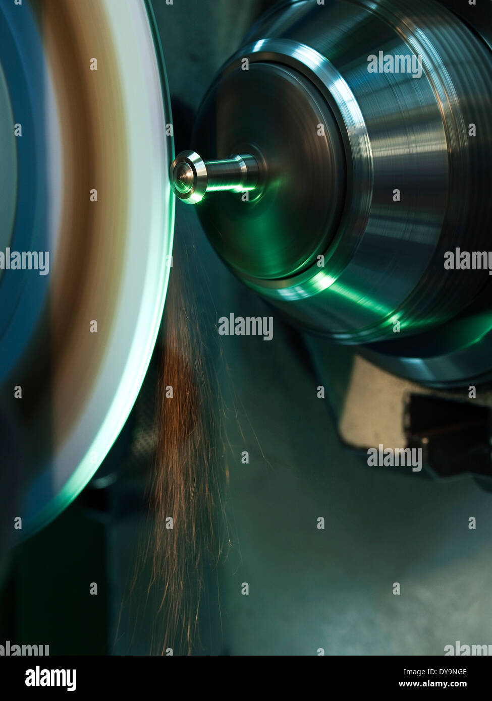 Engineering, grinding - Stock Image