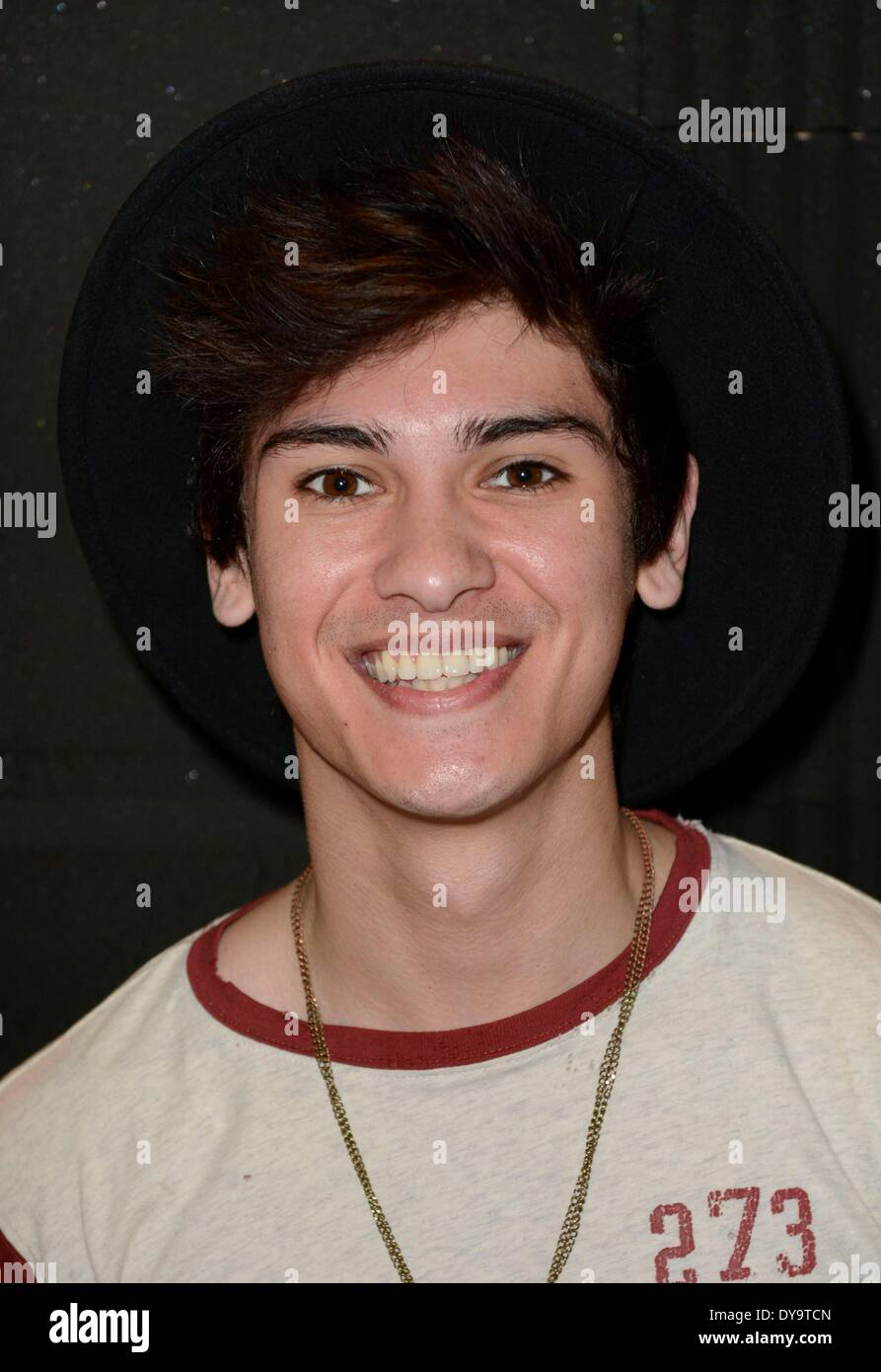 New York, NY, USA. 10th Apr, 2014. Anthony Ladao inside for Press Day with MIDNIGHT RED, New York, NY April 10, 2014. Credit:  Derek Storm/Everett Collection/Alamy Live News - Stock Image