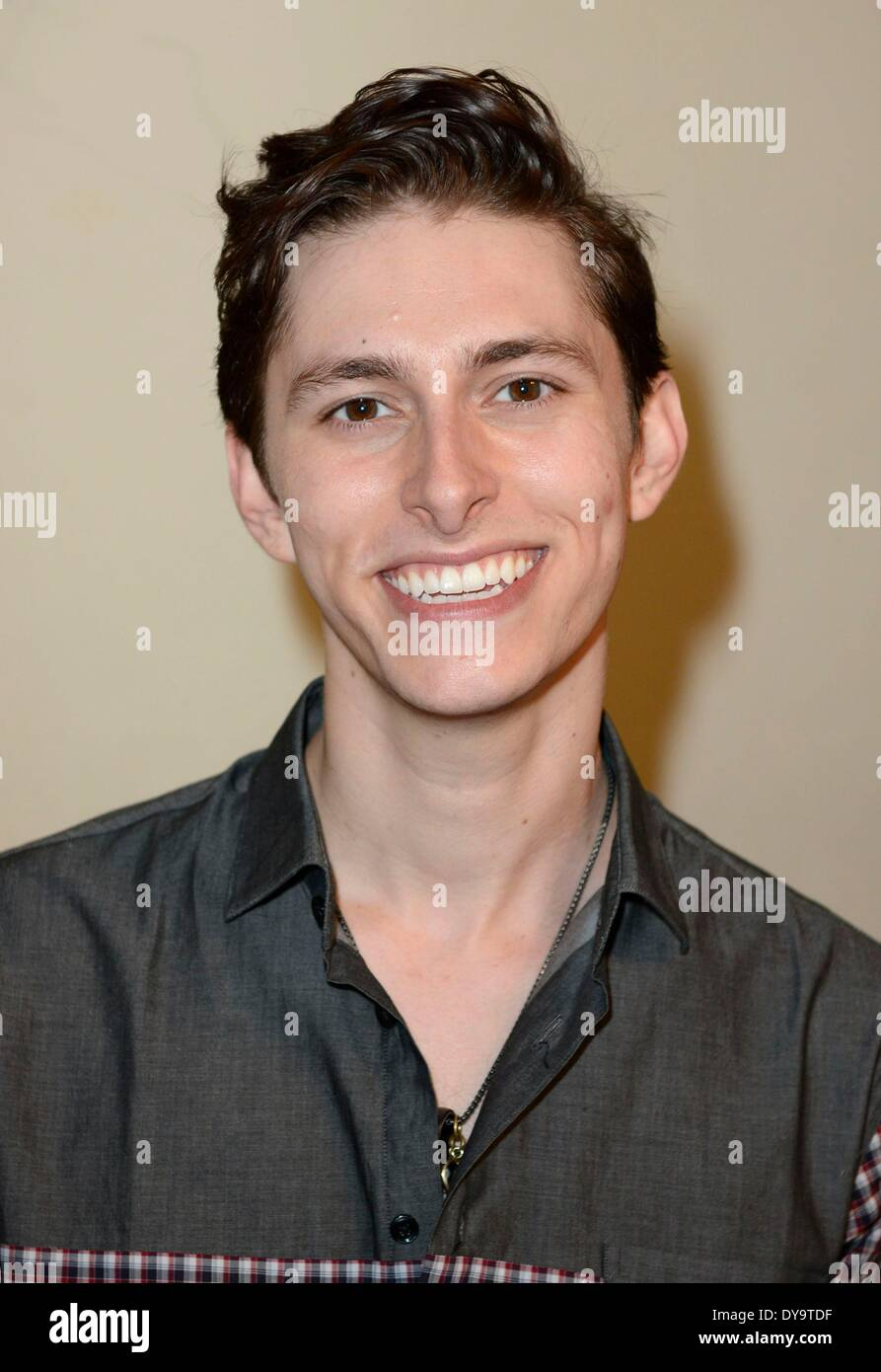 New York, NY, USA. 10th Apr, 2014. Eric Secharia inside for Press Day with MIDNIGHT RED, New York, NY April 10, 2014. Credit:  Derek Storm/Everett Collection/Alamy Live News - Stock Image
