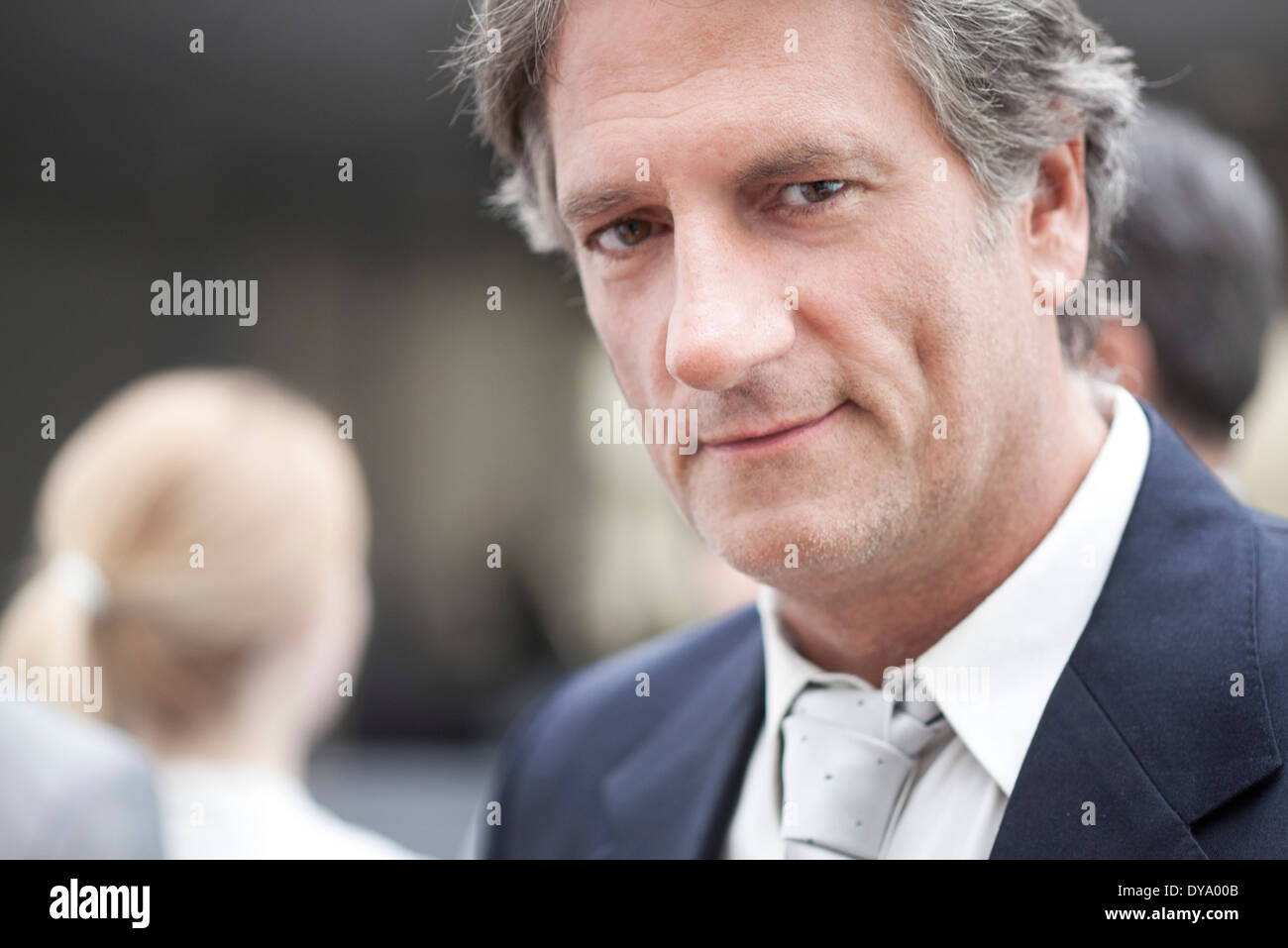 Business executive, portrait - Stock Image