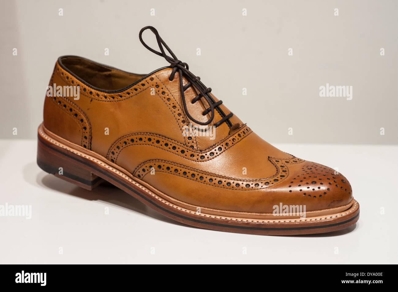 Schuh Herrenschuh Budapester Art Shoe Men Shoe Budapester Stock