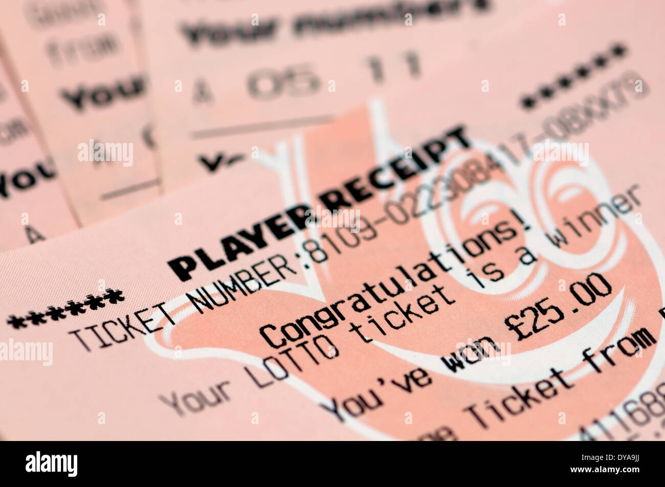 Winning Lottery Ticket Stock Photos & Winning Lottery Ticket Stock ...