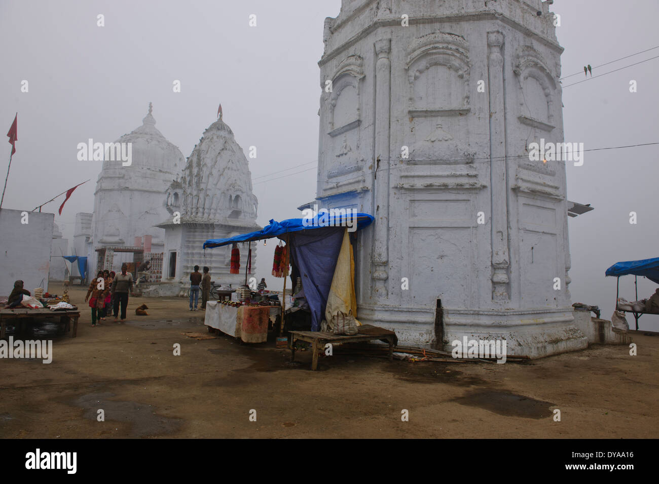 Bateshwar  200 Temple Complex, an archaeological site comprising about 200 ancient shrines dedicated to Shiva & Vishnu,MP,India - Stock Image