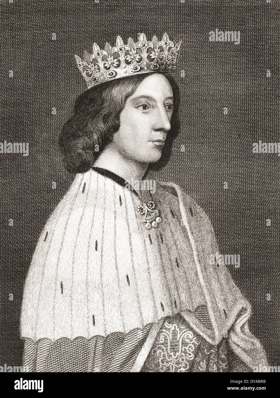James III, King of Scots, 1451 –1488 Stock Photo - Alamy
