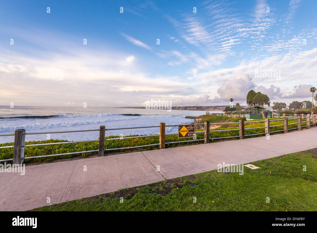 Seascape From Ellen Browning Scripps Park Area La Jolla California Stock Photo Alamy