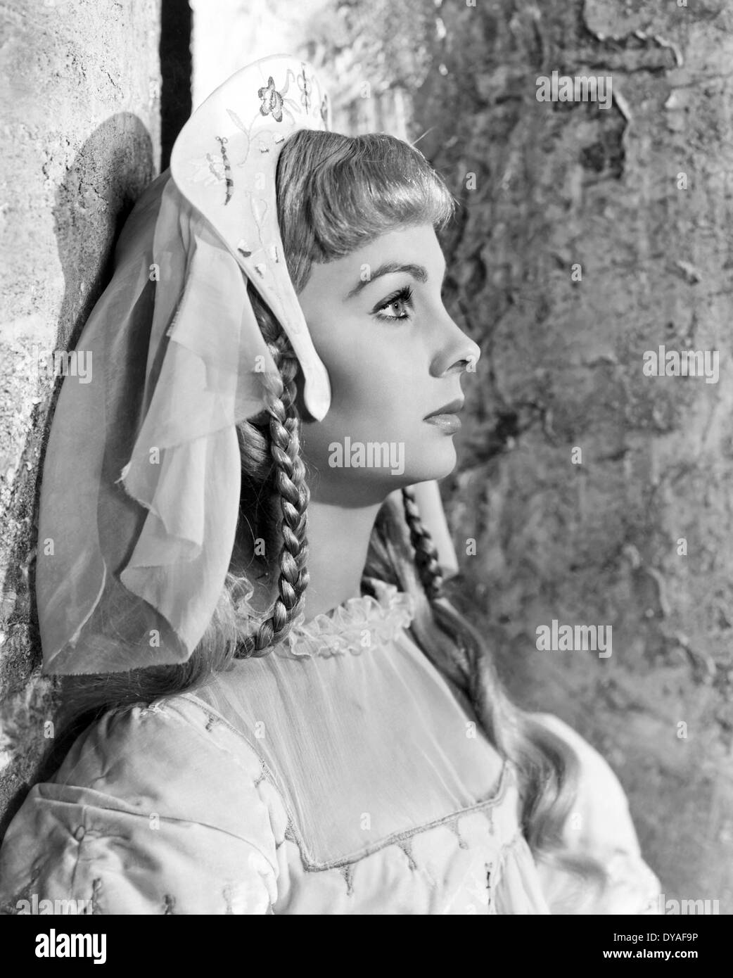 HAMLET 1948 Two Cities film with Jean Simmons as Ophelia - Stock Image