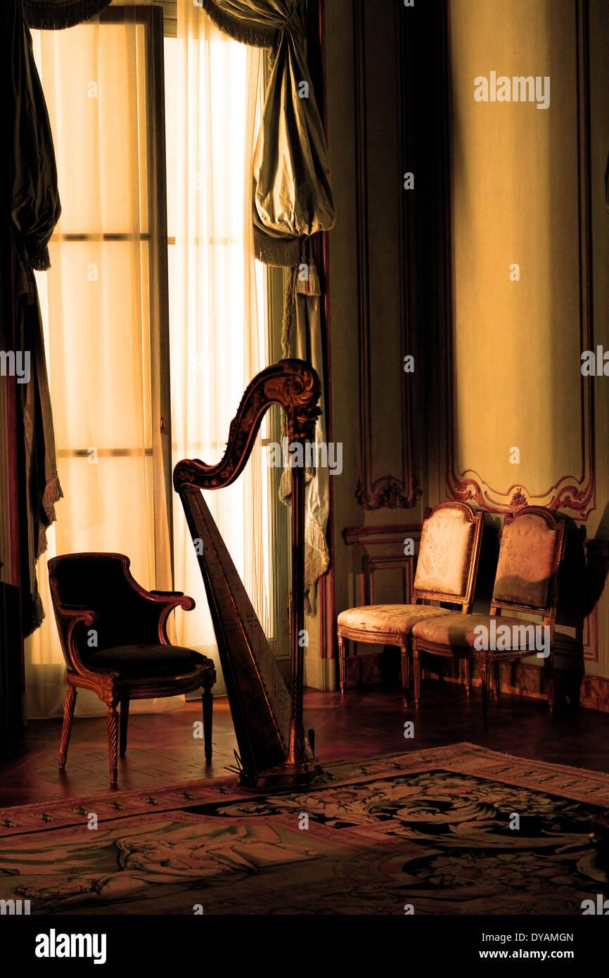 harp - Stock Image