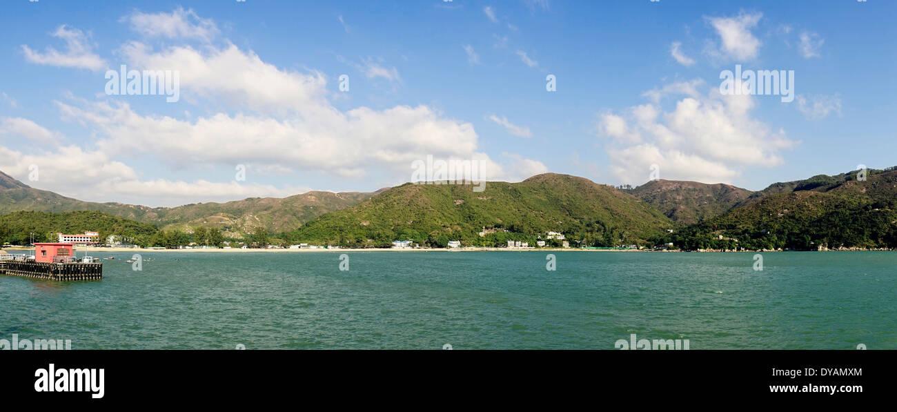 Hong Kong Lantau Island Mui Wo Bay - Stock Image