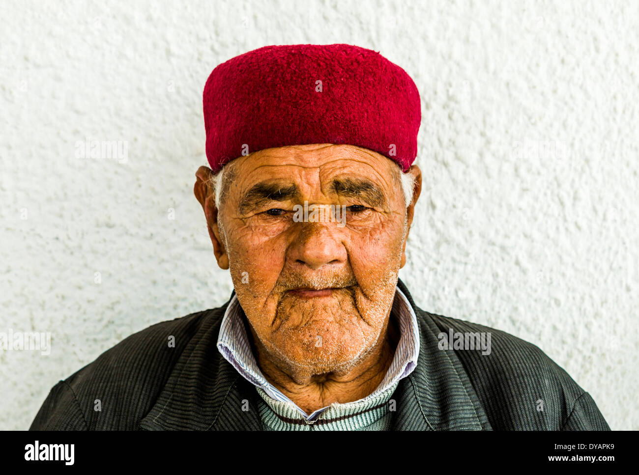 A typical Tunisian male - Stock Image