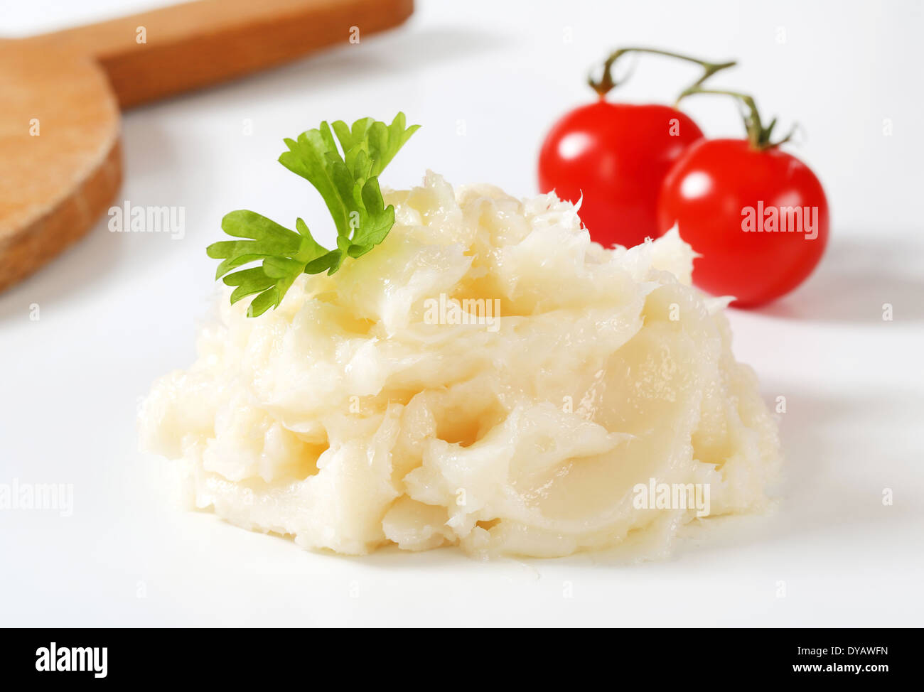 Pork lard spread - studio shot - Stock Image
