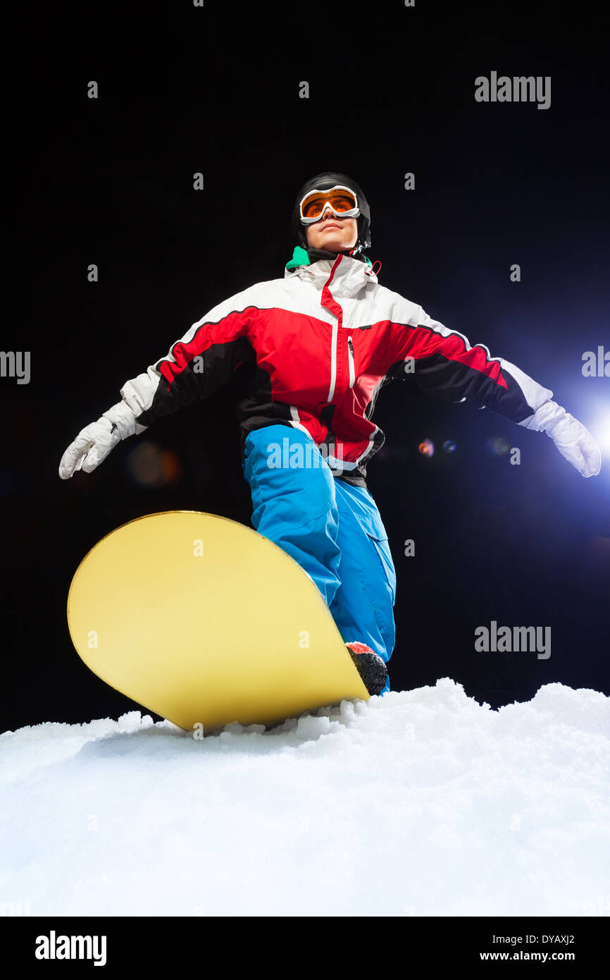 7bec89ea86b9 Black Snowboard Stock Photos   Black Snowboard Stock Images - Page 3 ...