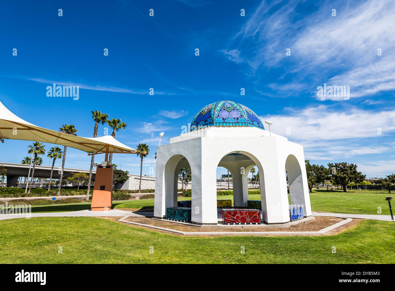 Cancer Survivors Park. San Diego, California, United States. - Stock Image