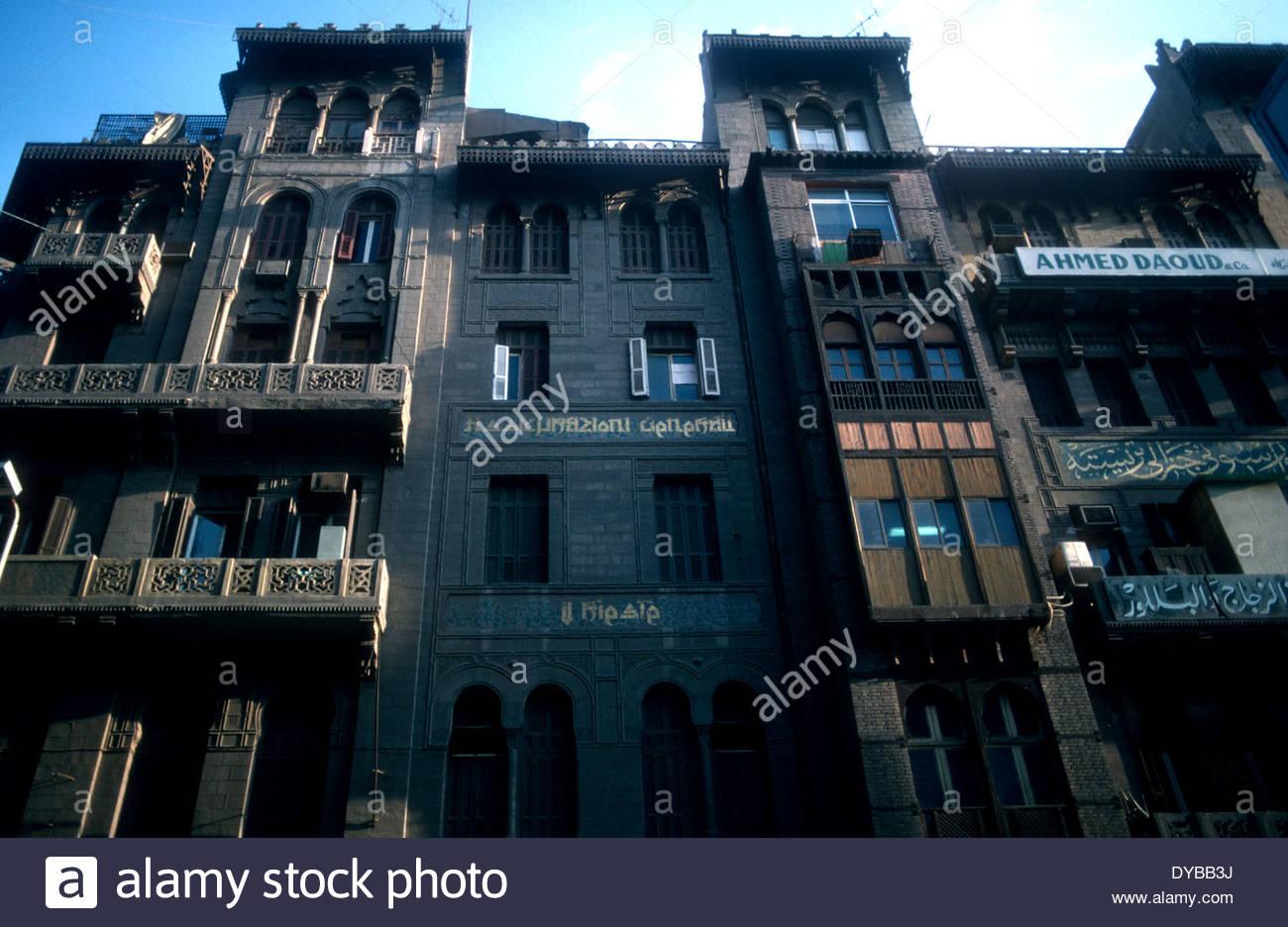 Ottoman architecture in Cairo - Stock Image