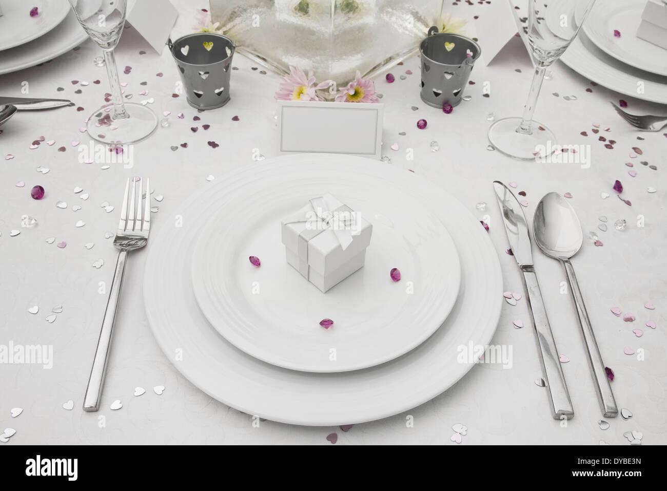 Wedding Table Display Wedding Favor Stock Photos & Wedding Table ...