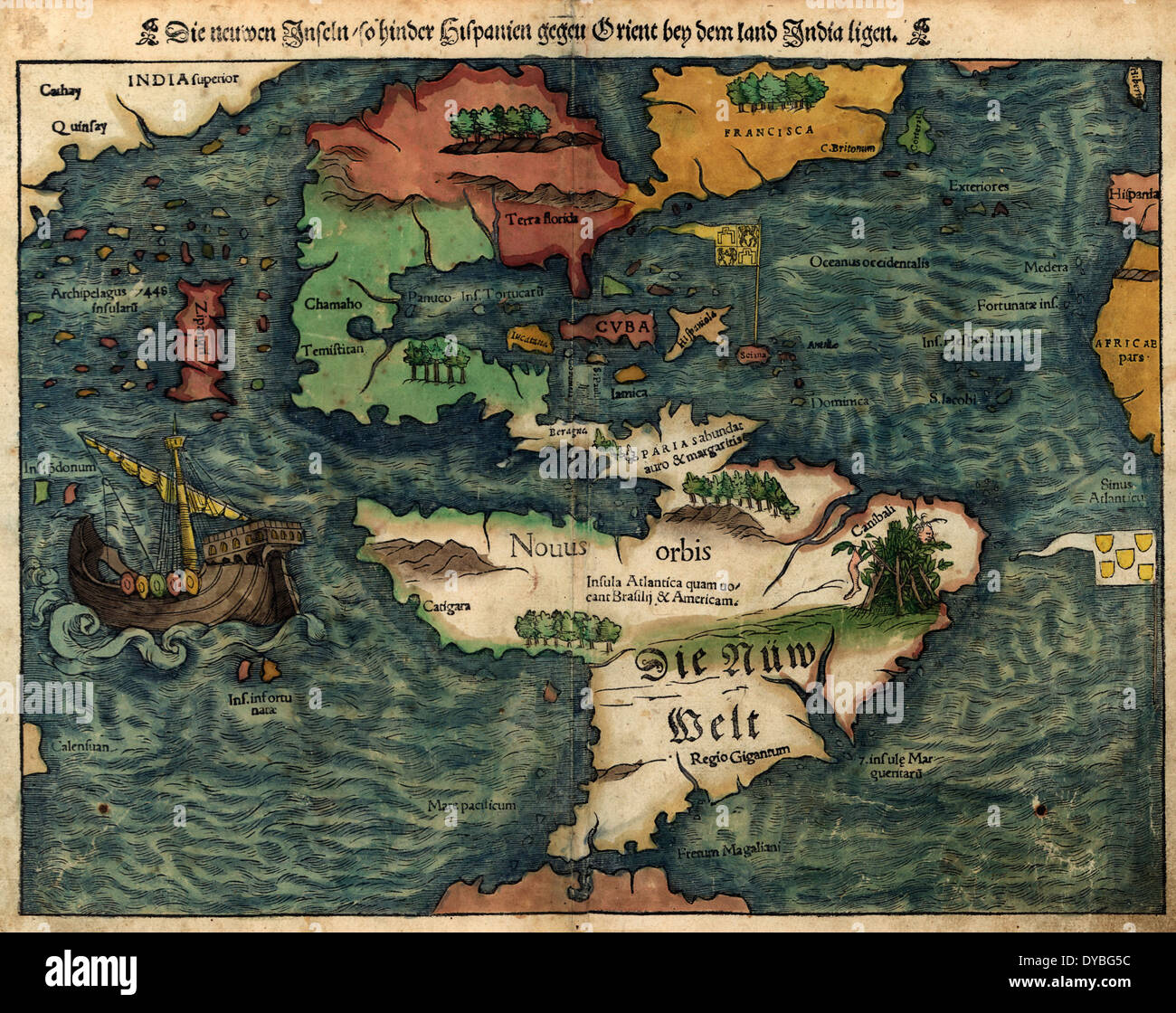 1500s Map Stock Photos & 1500s Map Stock Images   Alamy