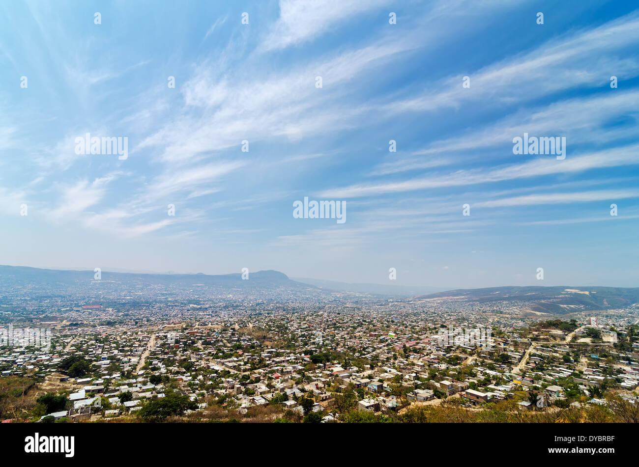 Cityscape of Tuxtla Gutierrez, the capital of Chiapas, Mexico - Stock Image