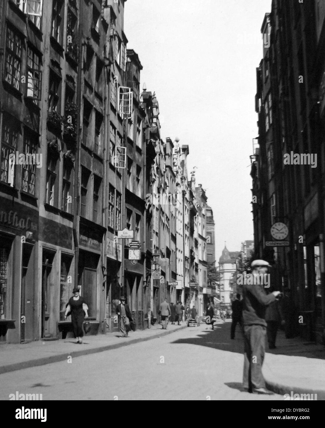 Danzig / Gdansk Poland probably 1930s Stock Photo